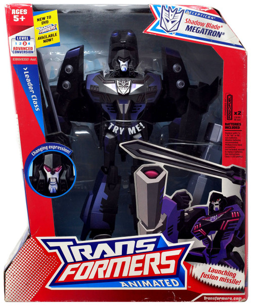 Transformers Animated Shadow Blade Megatron Leader Action Figure