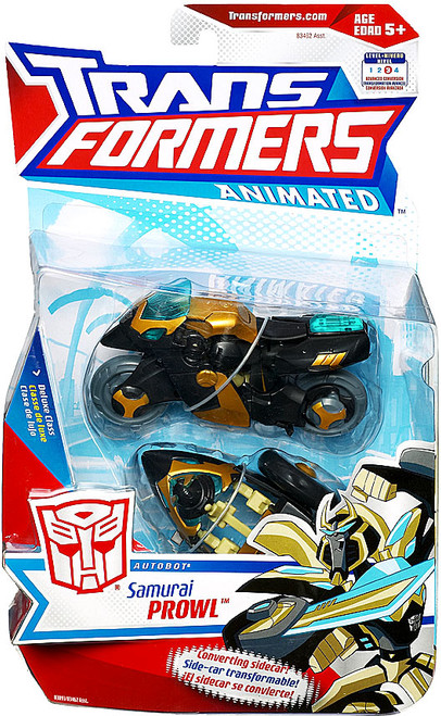 Transformers Animated Samurai Prowl Deluxe Action Figure