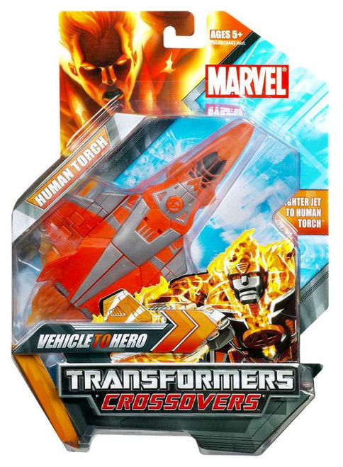 Marvel Transformers Crossovers Human Torch Action Figure