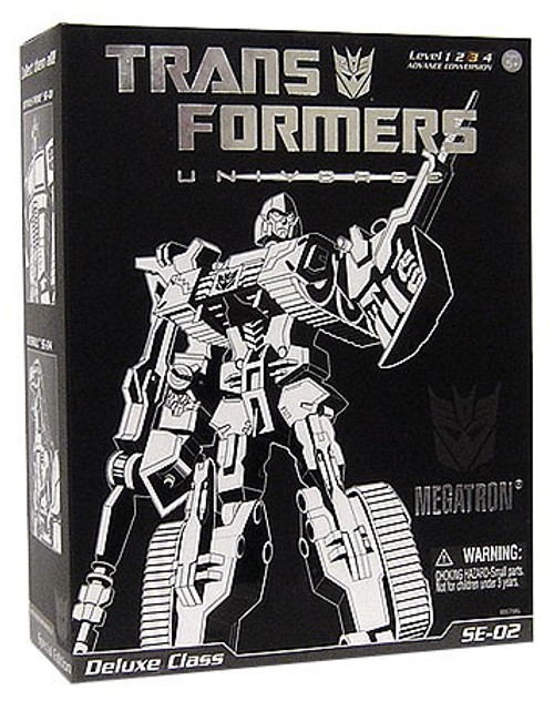 Transformers Universe Special Edition Deluxe Megatron Deluxe Action Figure