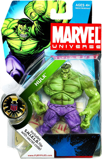 Marvel Universe Series 2 Hulk Action Figure #13