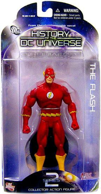 History of the DC Universe Series 2 The Flash Action Figure [Barry Allen]