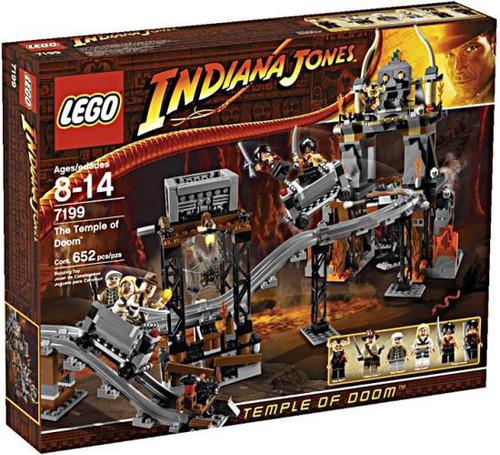 LEGO Indiana Jones Temple of Doom Set #7199