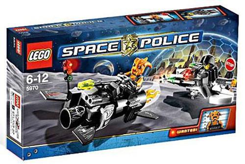 LEGO Space Police Freeze Ray Frenzy Set #5970