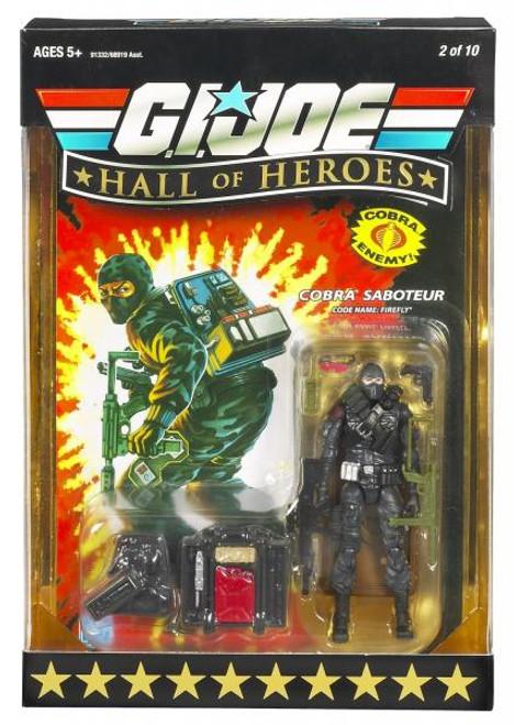 GI Joe Hall of Heroes Series 1 Firefly Action Figure
