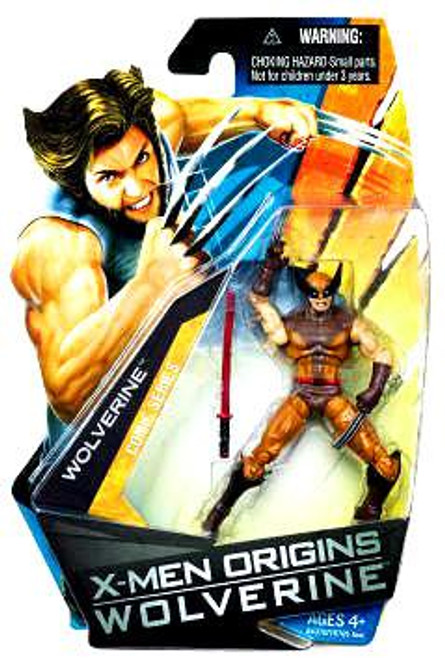 X-Men Origins Wolverine Comic Series Wolverine Action Figure [Brown & Yellow Suit]