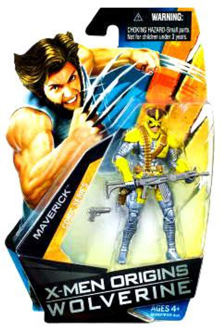 X-Men Origins Wolverine Comic Series Maverick Action Figure