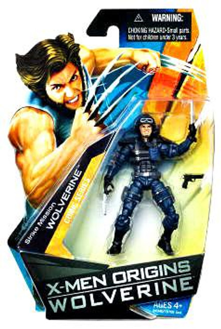 X-Men Origins Wolverine Comic Series Strike Mission Wolverine Action Figure