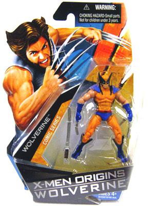 X-Men Origins Wolverine Comic Series Wolverine Action Figure [Blue & Yellow Suit]