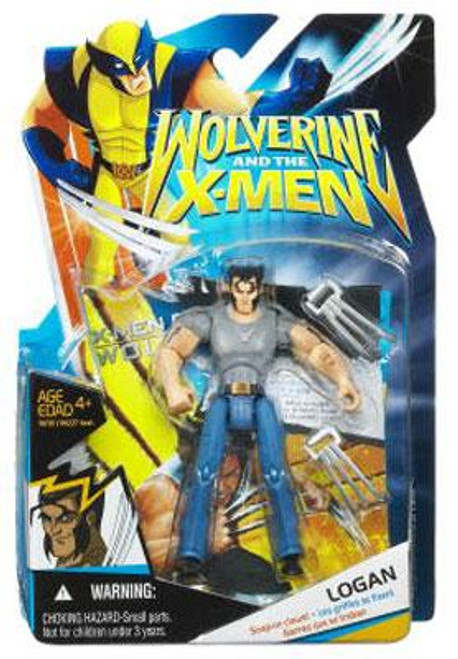 Wolverine and the X-Men Logan Action Figure [Gray Shirt & Jeans]