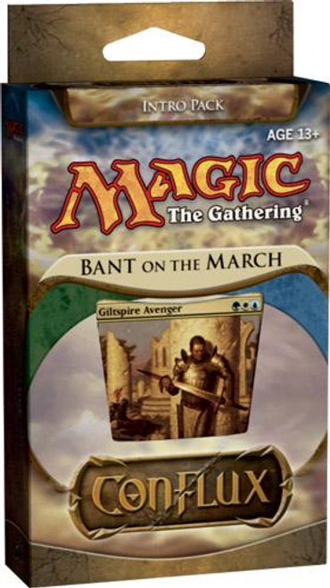 MtG Trading Card Game Conflux Bant on the March Intro Pack