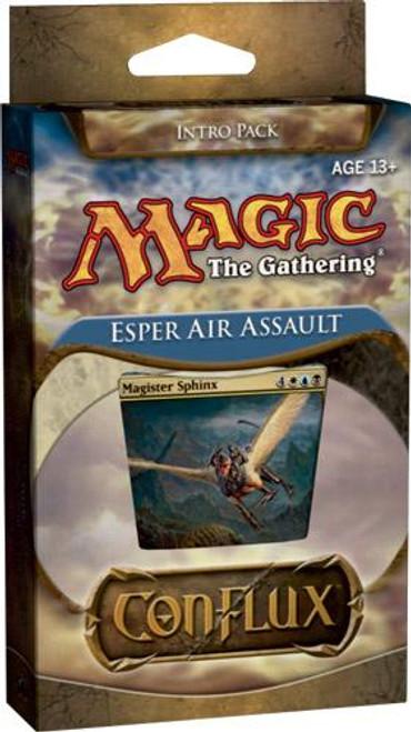 MtG Trading Card Game Conflux Esper Air Assault Intro Pack