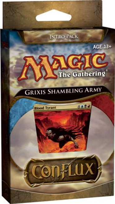 MtG Trading Card Game Conflux Grixis Shambling Army Intro Pack
