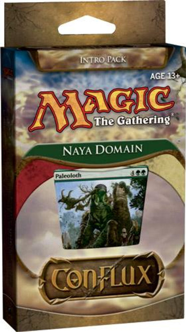 MtG Trading Card Game Conflux Naya Domain Intro Pack