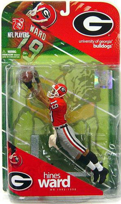 McFarlane Toys NCAA College Football Sports Picks Hines Ward Action Figure [Orange Jersey]