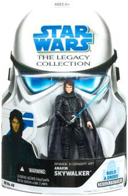 Star Wars Revenge of the Sith Legacy Collection 2007 Droid Factory Anakin Skywalker Action Figure [Evolution]