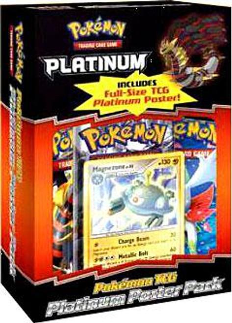 Pokemon Trading Card Game Platinum Poster Box
