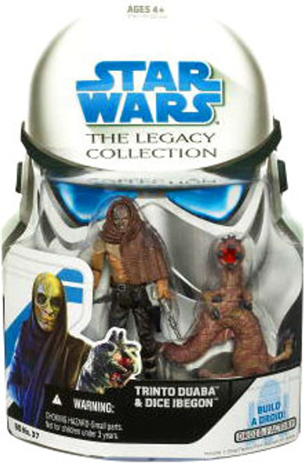 Star Wars A New Hope Legacy Collection Trinto Duaba & Dice Ibegon Action Figure 2-Pack #37