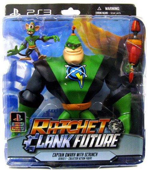 Ratchet and Clank Future Series 1 Captain Quark & Scrunch Action Figure 2-Pack