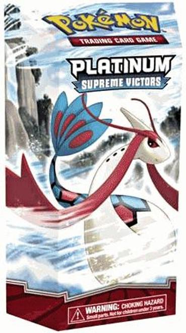 Pokemon Trading Card Game Platinum Supreme Victors Overflow Theme Deck