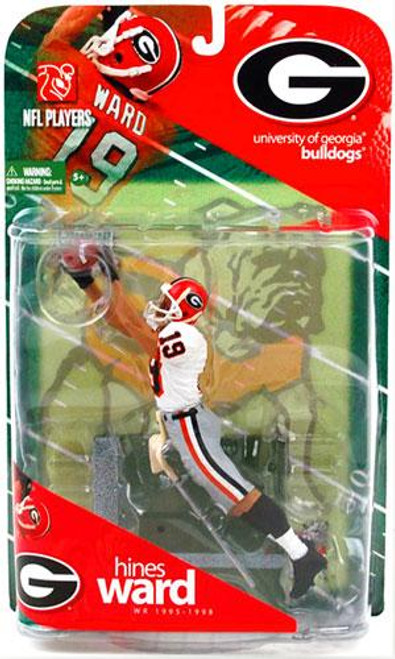 McFarlane Toys NCAA College Football Sports Picks Series 1 Hines Ward Action Figure [White Jersey Variant]