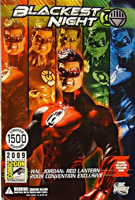 DC Green Lantern Blackest Night Hal Jordan Red Lantern Exclusive Action Figure