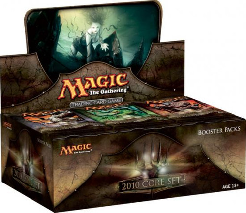 MtG Trading Card Game 2010 Core Set Booster Box [36 Packs]