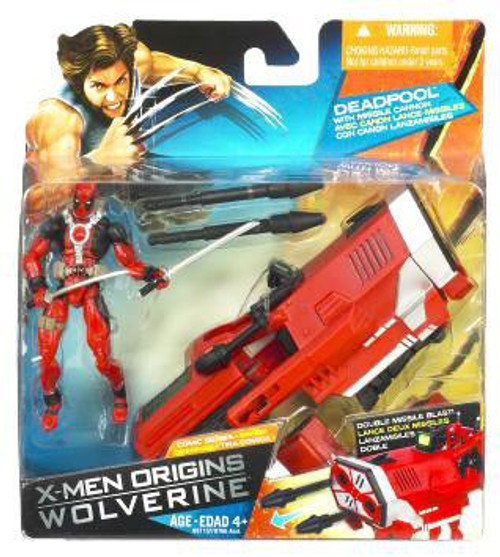 X-Men Origins Wolverine Comic Series Deadpool Action Figure