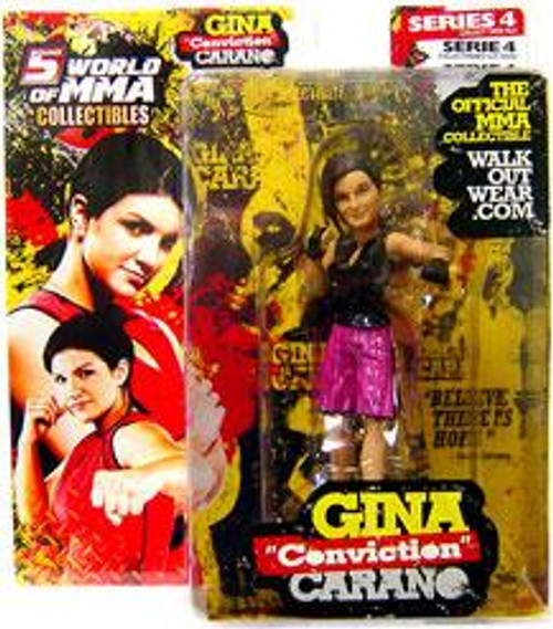 UFC World of MMA Champions Series 4 Gina Carano Exclusive Action Figure [Pink Shorts]