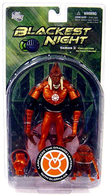 DC Green Lantern Blackest Night Series 3 Larfleeze the Orange Lantern with Glomulus Action Figure