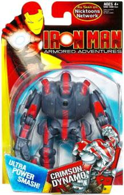 Iron Man Armored Adventures Crimson Dynamo Action Figure