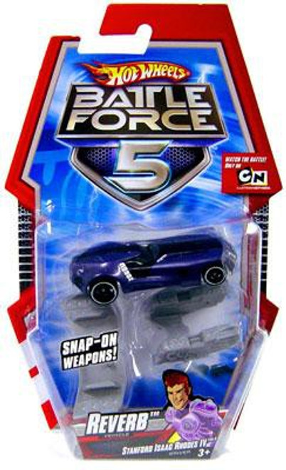Hot Wheels Battle Force 5 Reverb Diecast Car [With Blasters]
