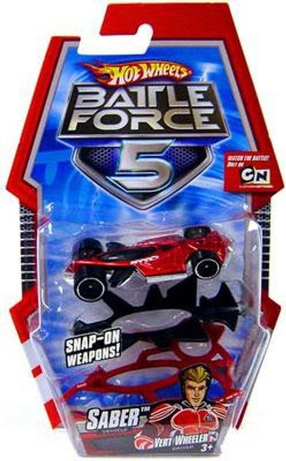 Hot Wheels Battle Force 5 Saber Diecast Car [With Armor]