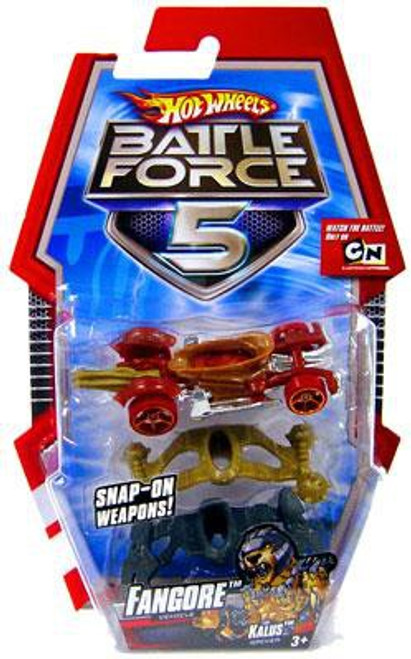 Hot Wheels Battle Force 5 Fangore Die-Cast Car