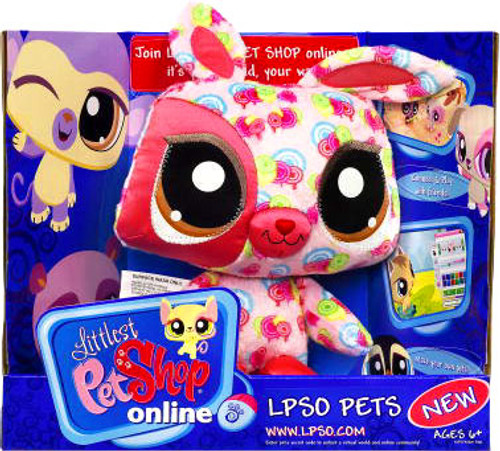 Littlest Pet Shop Bunny Plush