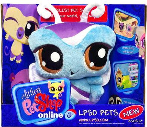 Littlest Pet Shop Online LPSO Pets Butterfly Plush [Random Package]