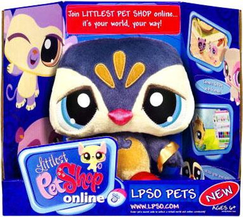 Littlest Pet Shop Online LPSO Pets Penguin Plush [Blue Face]