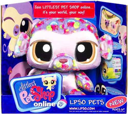 Littlest Pet Shop Monkey Plush
