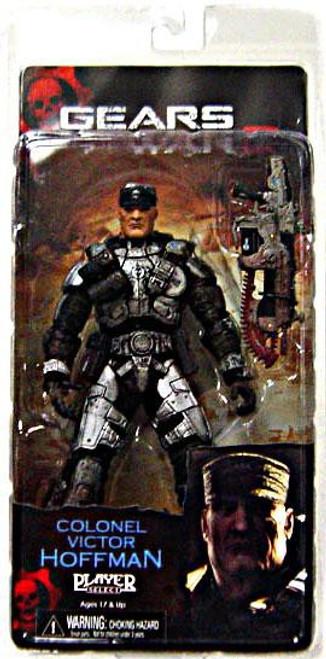 NECA Gears of War 2 Series 5 Colonel Victor Hoffman Action Figure
