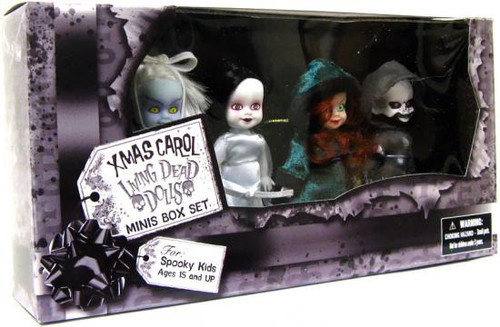 Living Dead Dolls Friday the 13th Xmas Carol Exclusive Mini Doll 4-Pack
