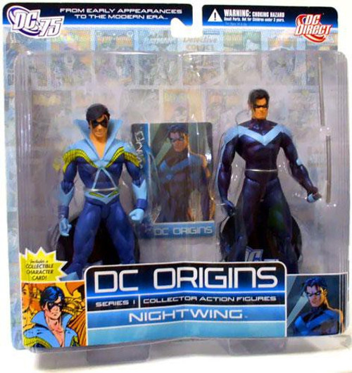 DC Origins Series 1 Nightwing Action Figure 2-Pack