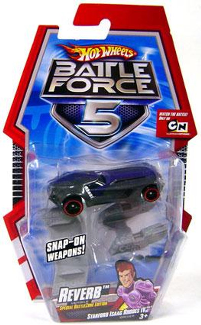 Hot Wheels Battle Force 5 Reverb Diecast Car [Special Battle Zone Edition]