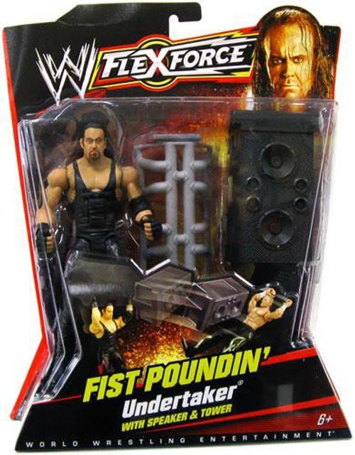 WWE Wrestling FlexForce Series 1 Fist Poundin' Undertaker Action Figure
