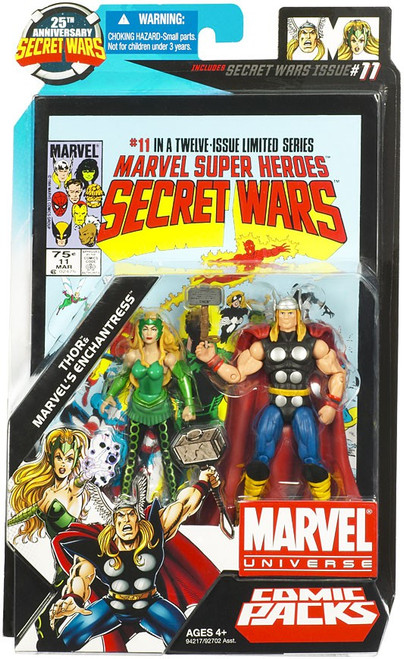 Marvel Universe Thor & Marvel's Enchantress Action Figure 2-Pack #11