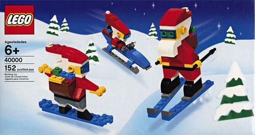 LEGO Cool Santas 3-Pack Set #40000