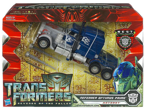 Transformers Revenge of the Fallen Defender Optimus Prime Voyager Action Figure