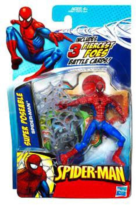 2010 Super Poseable Spider-Man Action Figure [Fiercest Foes Card]