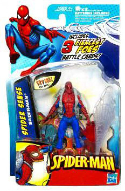 2010 Spider Sense Spider-Man Action Figure