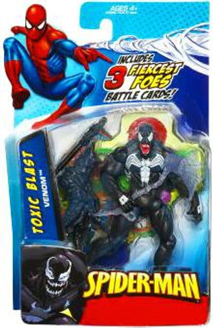 Spider-Man 2010 Toxic Blast Venom Action Figure