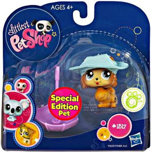 Littlest Pet Shop 2010 Assortment B Series 1 Pomeranian Puppy Figure #1317